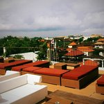 Rooftop with Legian view
