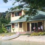 Our villa on the lagoon