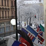 Charles Square from room
