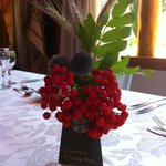 Beautiful flower arrangements, grown on site