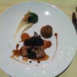 Piece de veau aux truffes