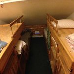 Seems small, but this is not for 4 people, only 2. Very comfy beds on the bott