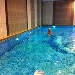 piscine de l'hotel : trop bien
