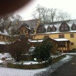 Hotelansicht Innenhof