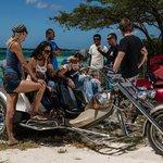 Trikes Aruba on tour