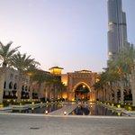 the way from al manzil to burj kalifa