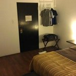 Entry door to room