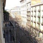 View form 4th floor balcony!