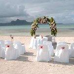 Our Beach wedding