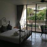 La camera e balcone