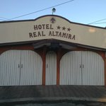 """Hotel"" front entrance"