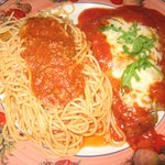 The classic Veal Parmesan