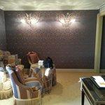 Il salotto della suite