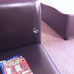 lovely comfy chair - with a hole