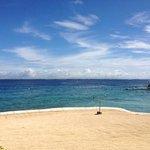 small but enjoyable (and safe) beach