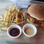 Burger and Fries!!!