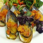 entree Mussels at Sudima