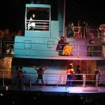 Fantasmic Show - cast boat ride