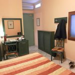 Entrance areas and desk of double room