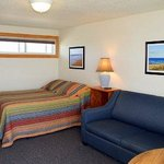 One Room Beachfront Efficiency with Queen Bed and Sleep Sofa