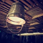 Cool lamps made from pails