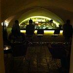 the cellar bar: good selection of spirits