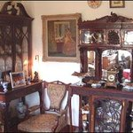 Antique furniture at Killyon Guesthouse