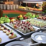 Un petit aperçu des nombreux desserts