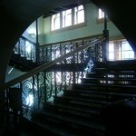 Staircase inside Old Red Museum