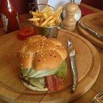 amazing Burger! So succulent :)