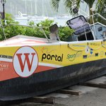 Record breaking boat