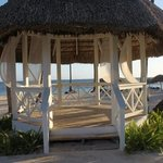 wedding gazebo on beach