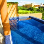 Private roof-top pool, Villa 609