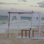 Setting for Wedding on the beach