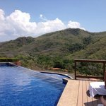 Infinity pool by reception
