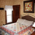 We have lower queen beds for the older guests.