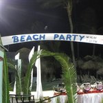 Night Beach area