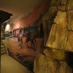 Jesse James Suite mural