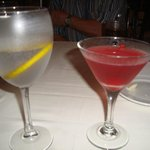 Speciatly drink of night, Hibiscus martini