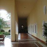 Hallway off lobby bar
