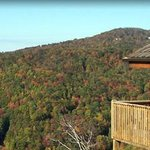 Scenic Wolf Mountain Cabins Foto