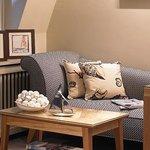 Sofa area in bedroom