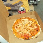 Pizza is fresh and made quickly