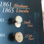 Coins from the Lincoln administration