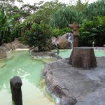 One of the hot springs