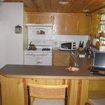 Retreat Suite kitchen.