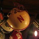 Nebraska Cornhusker helmet