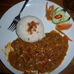 Delicious beef rendang!