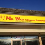 Front entrance of Mr. Wok