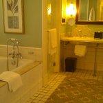 Bathroom in Beach view room